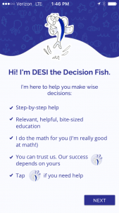 Decision Fish Splash Screen